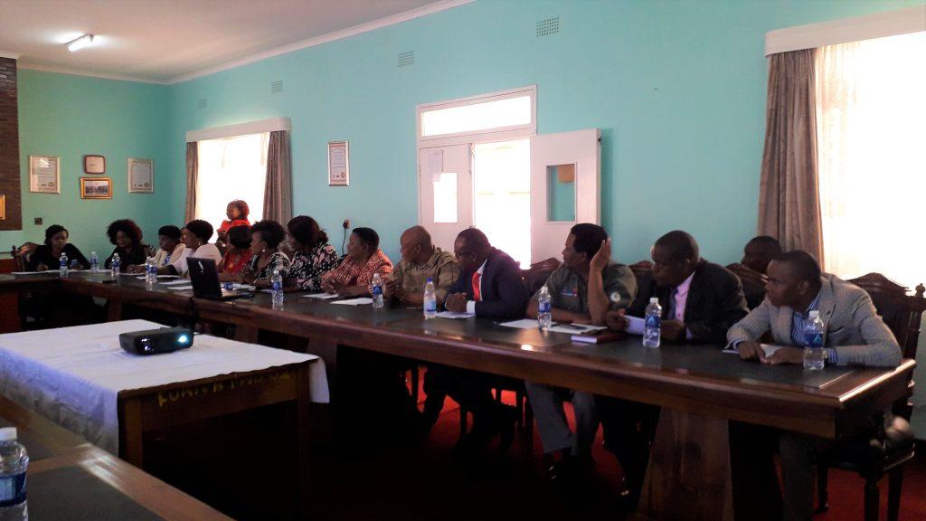 members of portfolio committee.